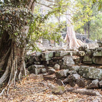 Cambodge temple dans la région d'Angkor Vat 13 février 2011