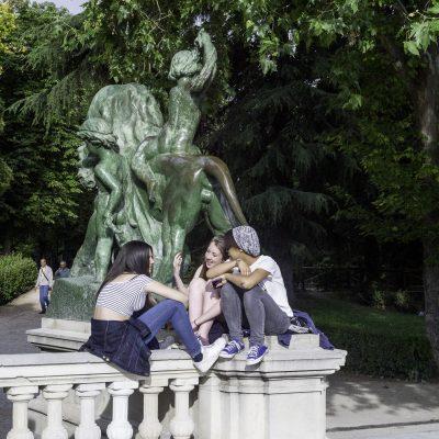 Madrid  parque d'El Retiro 15 juin 2015