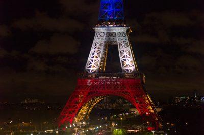Paris - 17 novembre 2015 - la tour Eiffel