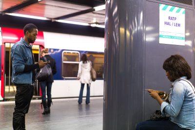 Paris Châtelet les Halles 24 octobre 2011