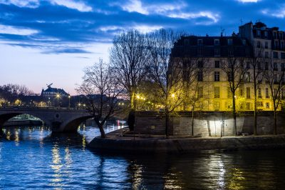 Paris - la pointe de l'isle saint Louis - lever du jour 5 décembre 2016
