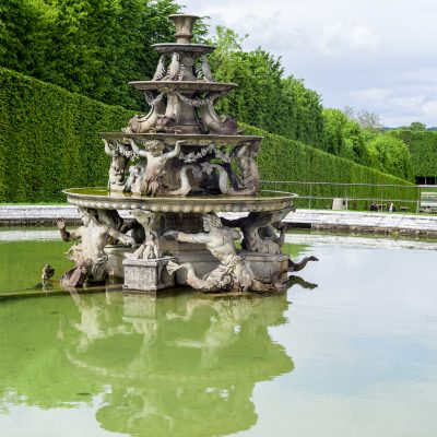 Versailles Le bassin de la Pyramide - 28 avril 2014
