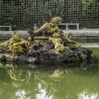Versailles 11 juillet 2011 - Bassin de Bacchus dit de l'automne