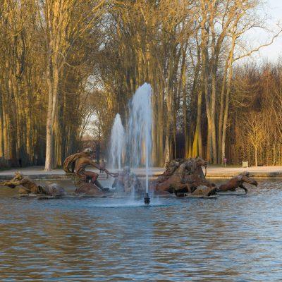 Versailles 16 décembre 2013  Le char d'Appolon  Jean Baptiste Tuby 1670