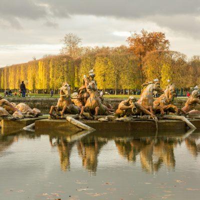 Versailles 30 novembre 2013 Automne - fontaine d'Apollon