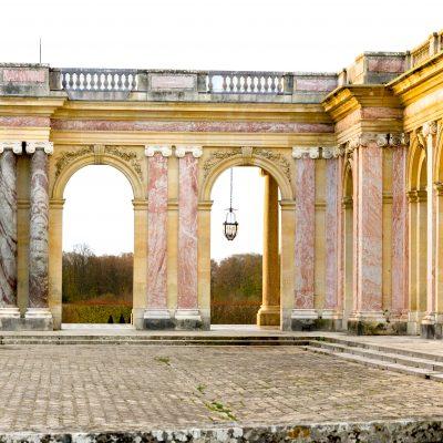 Versailles  30 novembre 2013  le Grand Trianon