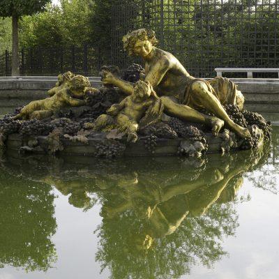 Versailles bassin de Bacchus 11 juillet 2011