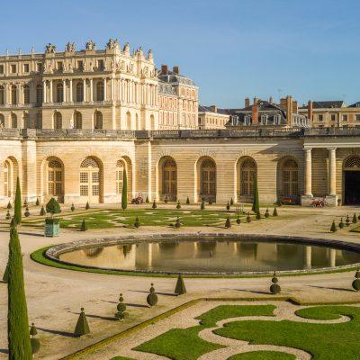 Versailles l'orangerie et l'aile sud 31 octobre 2016