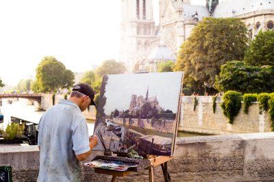 Paris - 24 juillet 2014 - Pont de l'Archevèché