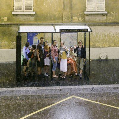 Versailles rue de l'orangerie -  22 août 2011
